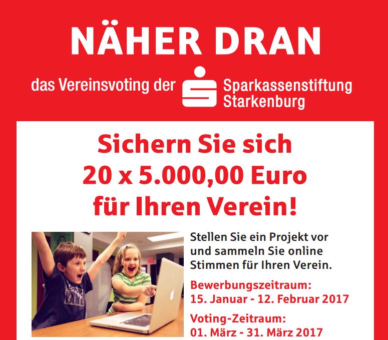 Sparkassenstiftung - Voting