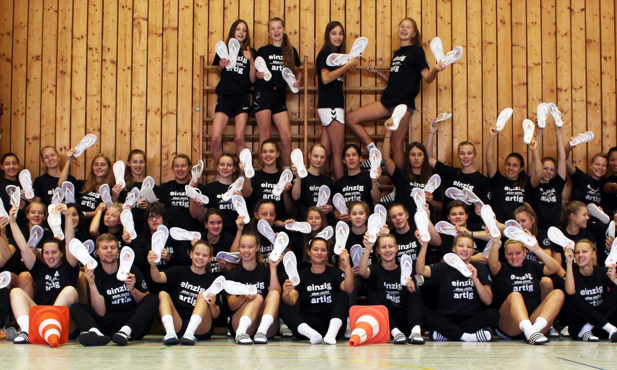 Handballmädels fördern